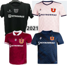 SANDOVAL-Camiseta de alta calidad para casa, camisa de RIQUELME, Montillo, arguiz, LARRIVEY, BARROS, ISLA, 2020- 21, Universidad de Chile, Nueva