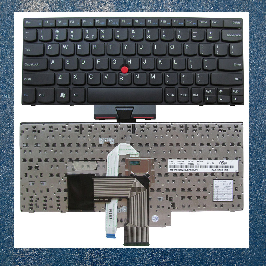 "Lenovo Thinkpad 11.6/"" X131e X130e Genuine US Keyboard FRU 04Y0379 04Y0342 /""NICE"