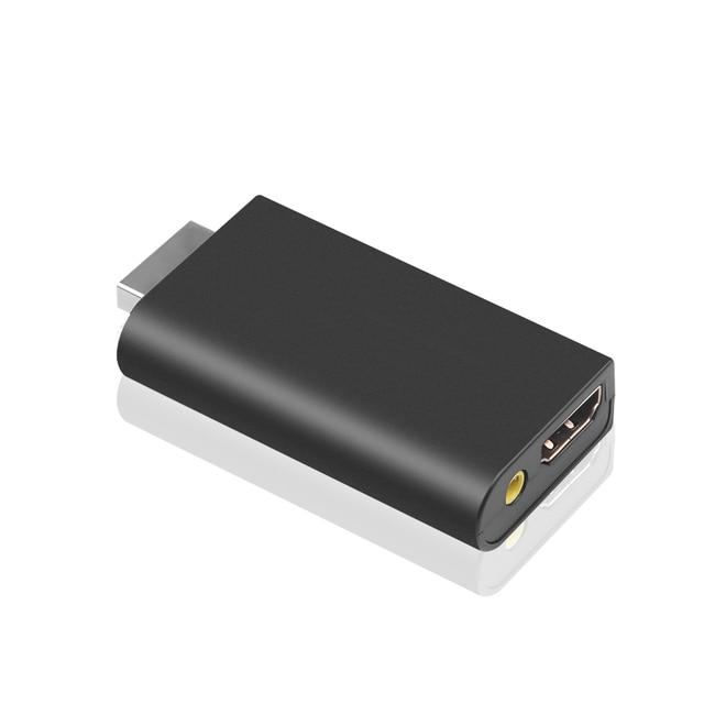 PS2 ために HDMI ビデオ変換アダプタ 3.5 ミリメートルオーディオ出力ハイビジョンミニゲームプレーヤー Hdmi 高品質