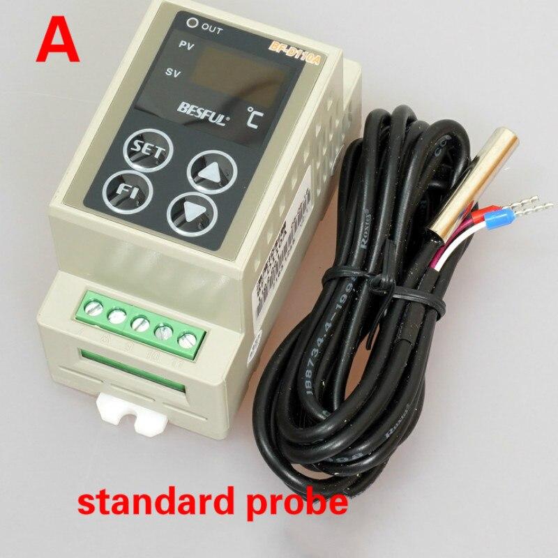 Thermostat temperatur controller neue schiene solar thermostat kühlung heizung einzel-kanal temperatur controller AC90V-250V