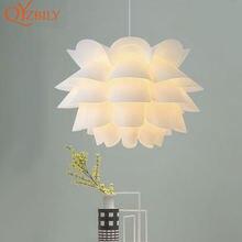 Современный подвесной светильник «сделай сам» люстра в виде
