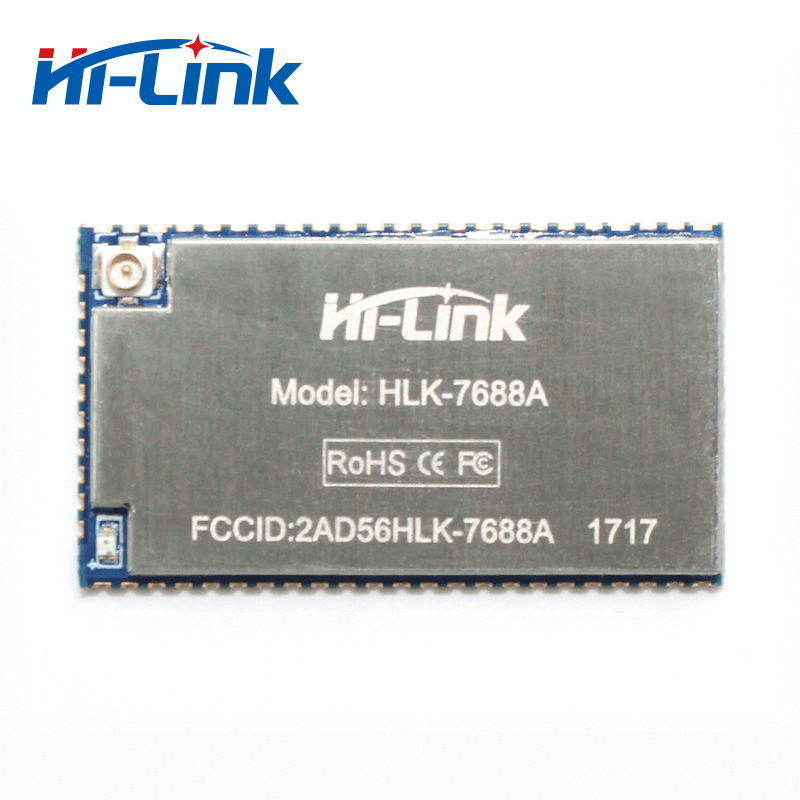 2.4G HLK 7688A uart to ethernet wireless routers module free shipping|Home Automation Kits|Consumer Electronics - title=