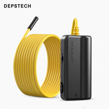 DEPSTECH WF020X Wireless Inspection Camera IP67 Waterproof WiFi Borescope Endoscope 1200P HD Snake Camera for Android IOS Tablet