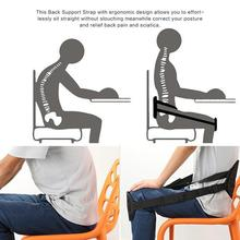 New Back Posture Corrector Adults Sitting Posture Correction Belt Clavicle Support Belt Better Sitting Spine Braces Supports