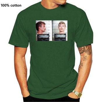 Jeffrey Dahmer T-Shirt Serial Killer 2020 Hot Sale Super Fashion Summer Fashion Funny Print T-Shirts Create Your Own T Shirt image