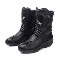 NEW ARCX Women lady Motorcycle Boots Genuine Cow Leather Waterproof Moto Racing Boots femal Motorcross Black Motorbike Boots