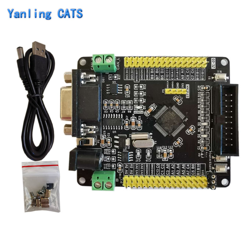 STM32 Arm Cortex M3 Development Board STM32F103RB RCT6 with RS232 CAN RS485 LQFP64 Pin MCU Industial