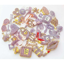 Fashion Charms Jewelry-Accessories Random-Fit DIY At for Women's T006 35pcs Picked Mixed