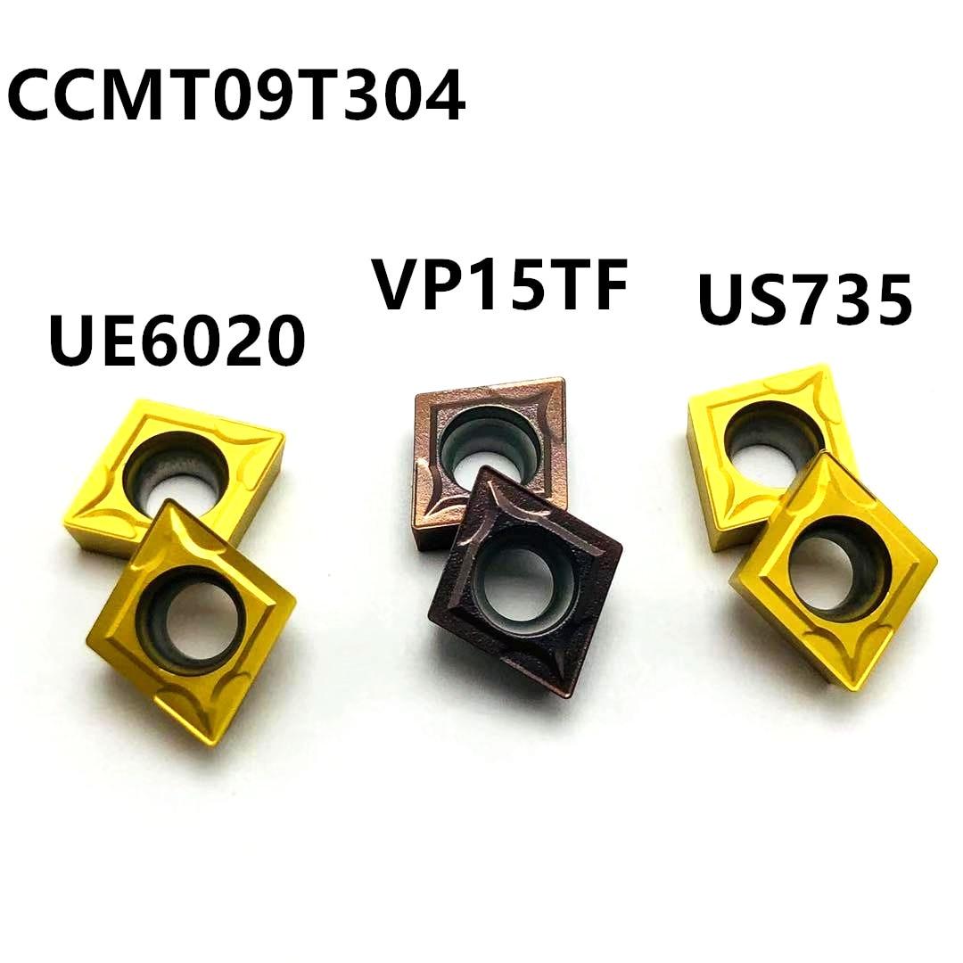 Высококачественный карбидный автомобильный нож CCMT09T304 VP15TF UE6020 US735 станок с ЧПУ Фрезерный инструмент CCMT060204 токарный режущий инструмент