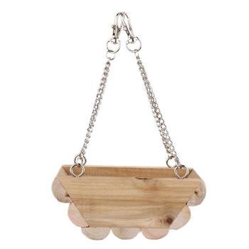 Hanging Boat Swing Mouse Parrot Bird Cat Hamster Bed Cage Toys 1