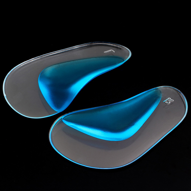Hot Selling 1 Pair Professional Orthotic Insole Child Flatfoot Corrector Arch Pain Support Gel Inserts Pads Top Quality P0016
