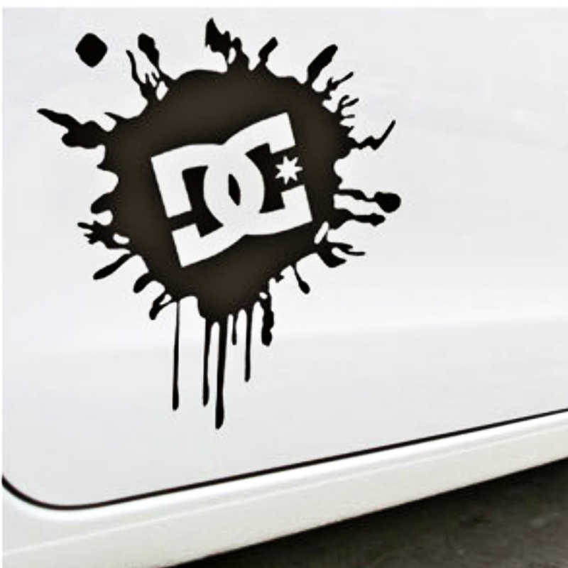 Aliauto araba aksesuarları Ken blok DC mürekkep Logo otomatik etiket ve çıkartma Toyota Ford Chevrolet Volkswagen Skoda Honda Kia lada