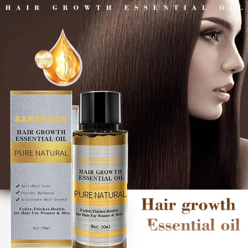 Hair Care Hair Growth Essential Oils Essence Original Authentic 100% Hair Loss Liquid Health Care Beauty Dense Hair Growth Serum 3