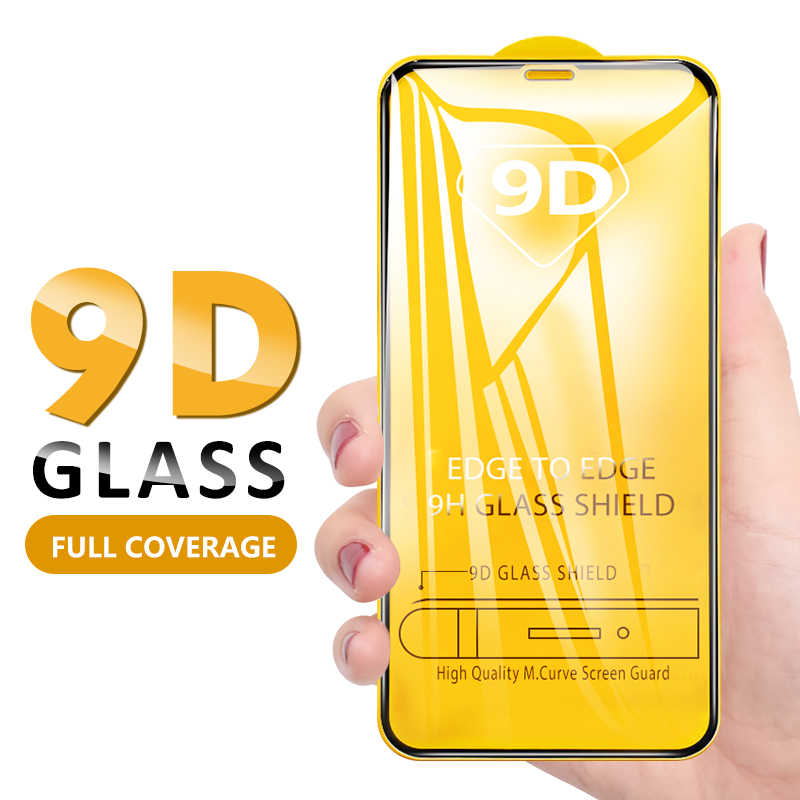 9D Full Cover Termpered Glass For iPhone XR XS MAX X 8 7 6 6S Plus Screen Protector Cover Case Film Capa For iPhone XR XS MAX 8