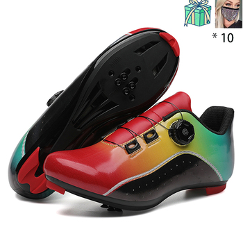 New Style Speed Shoes Men MTB Outdoor Sports Bicycle Shoes Self-locking Road Bike Shoes Professional Racing Bicycle Sneaker 17