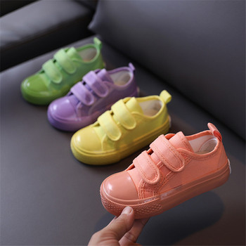 2020 Autumn New Children Canvas Shoes Candy Color  Kids Shoes For Girls Breathable Fashion Boys Sneakers Casual Shoes 21-30 2020 slip on canvas children shoes sports breathable boys sneakers kids shoes for girls casual child flat canvas shoes d02291