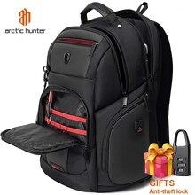 ARCTIC HUNTER Waterproof Backpack Mens  Laptop Backpack School Bag for Teenagers Rucksack Multifunction Travel Backpacks Male