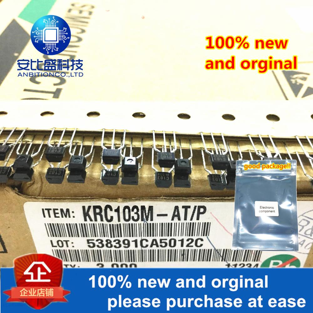 20pcs 100% New And Orginal KRC103M 2SC103 C103M C103 TO-92 In Stock