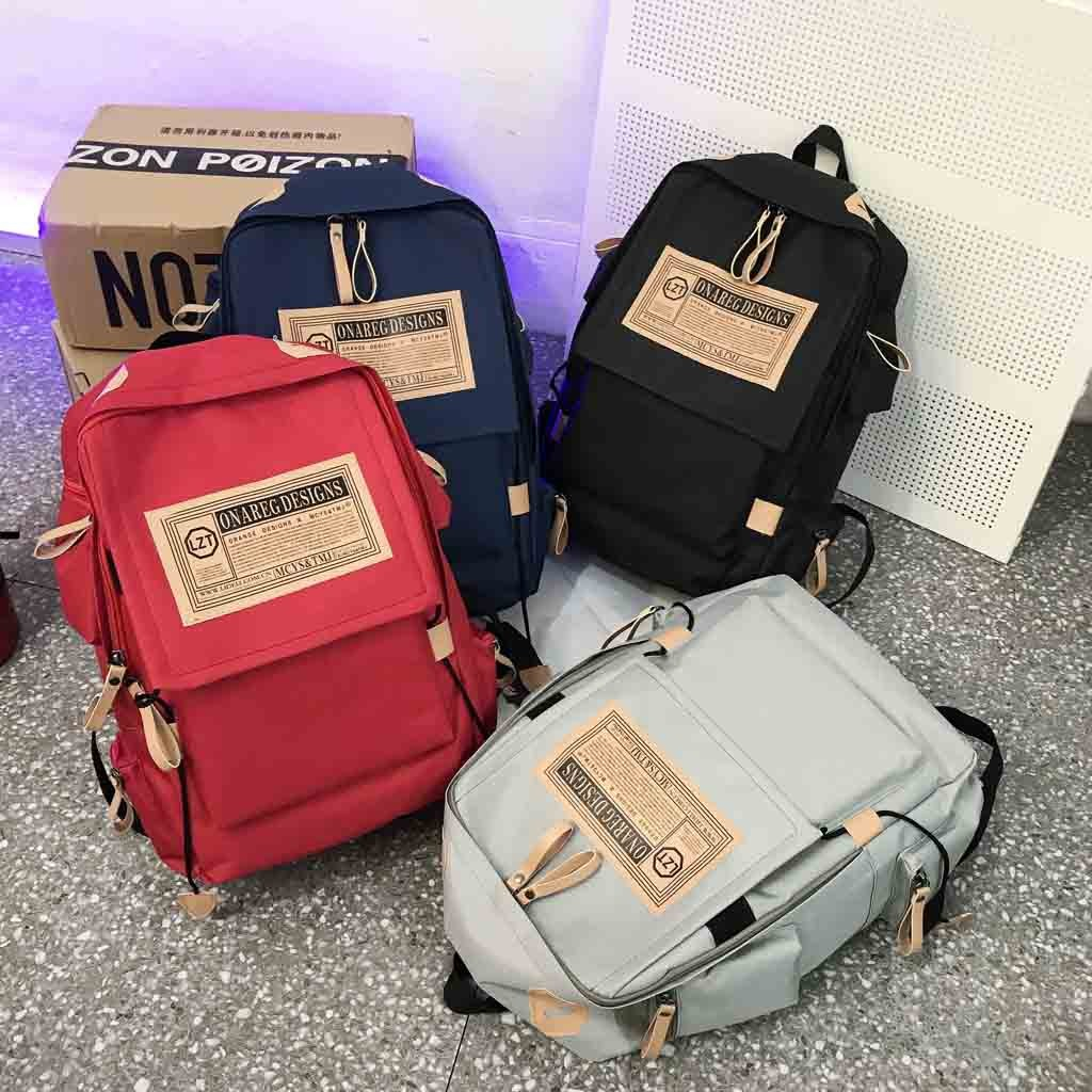 Men And Women Backpack Fashion Casual Student Bag Large Capacity Computer BagDrop Shipping Supplier Boy Girl The Man Woman Sexy