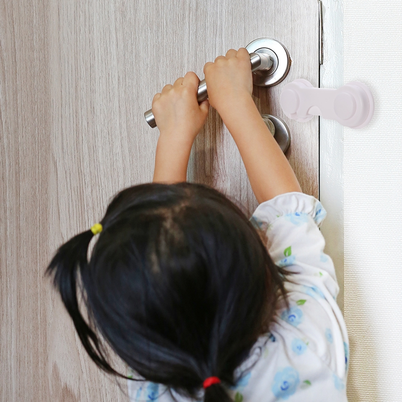 Multi-function Child Baby Safety Lock Cupboard Cabinet Door Drawer Safety Locks Children Security Protector Baby Care 10pcs/lot