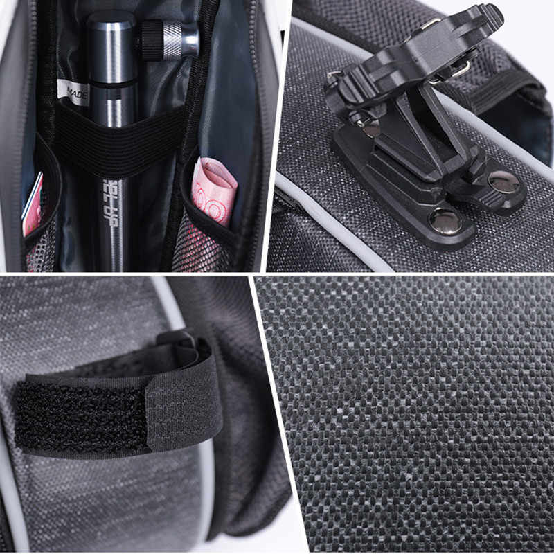 Wheel Up MTB Saddle Tailbag Water Bottle Bag Cycling Accessories for Road Bike