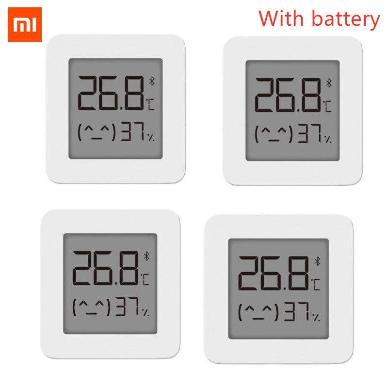 XIAOMI Mijia Hygrometer-Thermometer Work Digital Electric Smart Wireless with Newest-Version