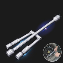 Removing Extended Multi-functional Emergency Tireauto Repair Tool Cross Wrench Auto Tire Energy Saving Wre