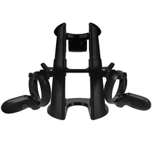 Vr Stand,Headset Display Holder and Station for Oculus Rift S Oculus Quest Headset Press Controllers