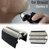 Substituição Cabeças Barbeador elétrico Cortador De Substituição Cabeças 52B 5 52S para Braun Series 5020S 5030S 5040S 5050S 5070S 5090CC|Suporte p/ barbeador| |  -