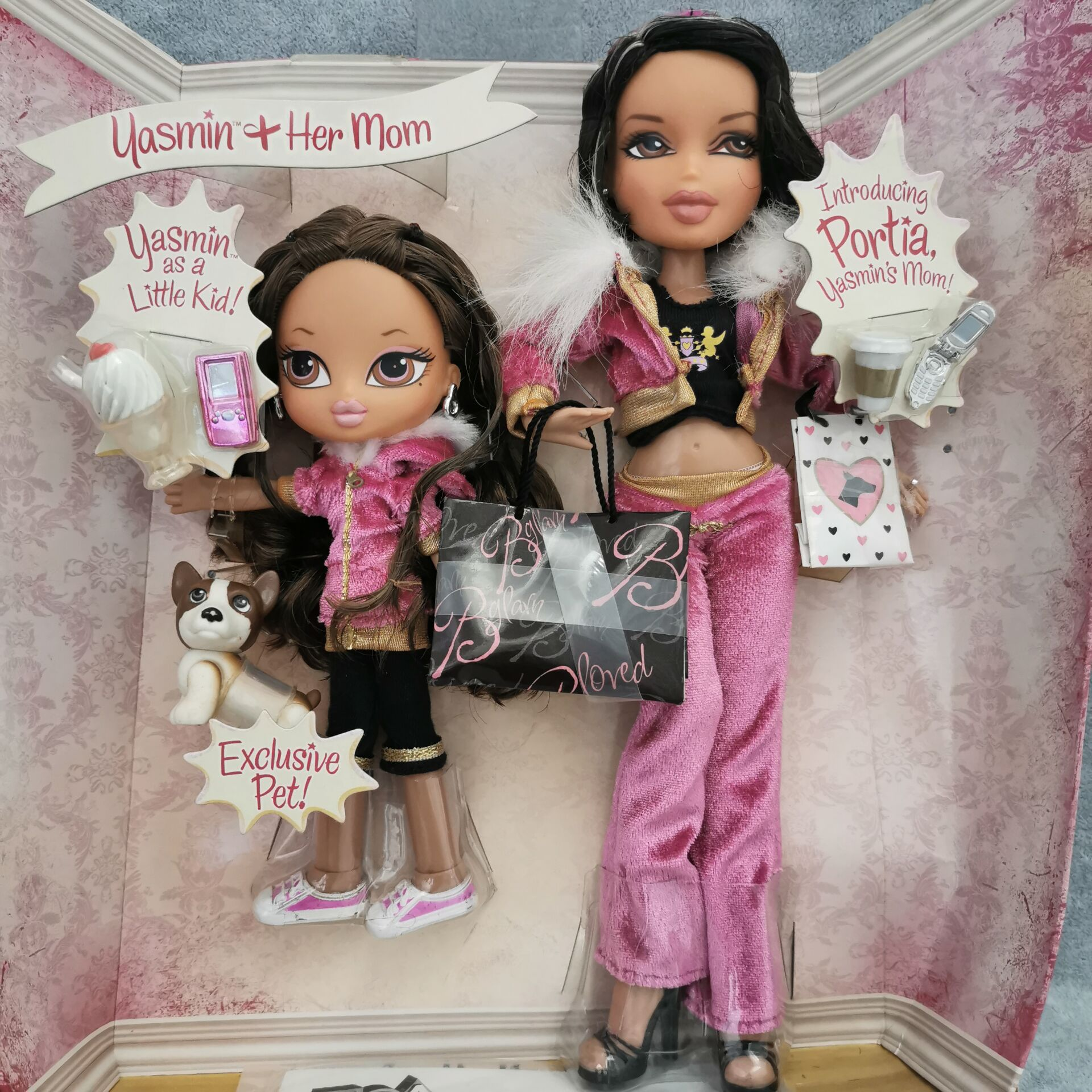 High Quality Limited To Collect Older Sister And Younger Sister Doll And A Lot Of Accessories