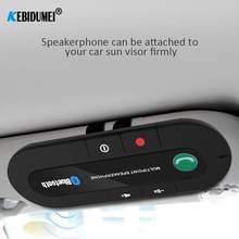 USB Power Freisprecheinrichtung Bluetooth Auto Mp3 Player kit Wireless Audio Receiver Sonnenblende Clip Auto Freisprecheinrichtung Musik Adapter Großhand