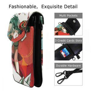 Image 2 - Ghibli sac à bandoulière en cuir, Mononoke Hime, sac à bandoulière Slim pour femmes, étudiantes tendances voyage de haute qualité