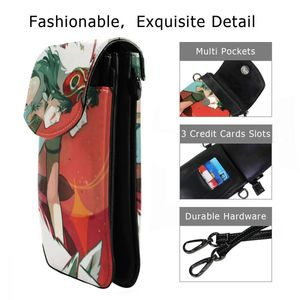Image 2 - Studio Ghibli Shoulder Bag Mononoke Hime Leather Bag Student Slim Women Bags Crossbody Womens Trending Travel High quality Purse