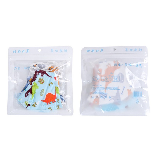 Cute PM2.5 Washable Mouth Mask With Valve Kids Children Anti Haze Dust Mask Nose Filter Face Muffle Bacteria Flu Respirator 5