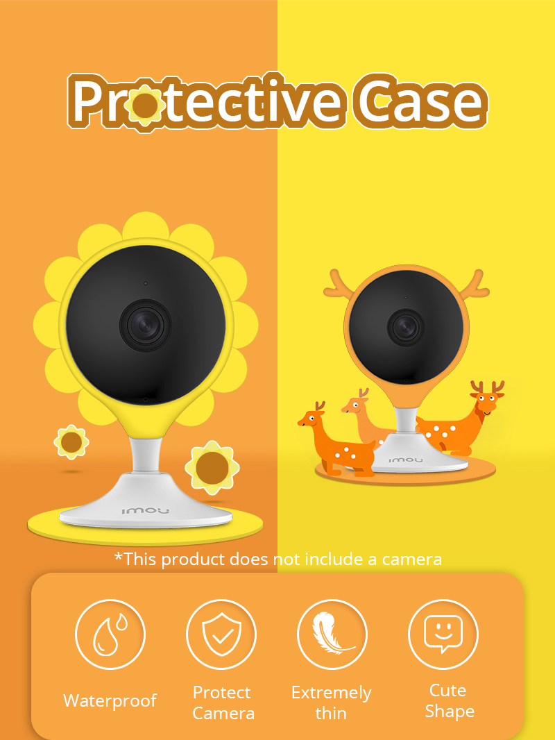 Dahua Cue 2 imou IP Camera Protection Silicone Cover Cue 2 Accessories  Shatter Resistant Dressing Silicon Cover| | - AliExpress