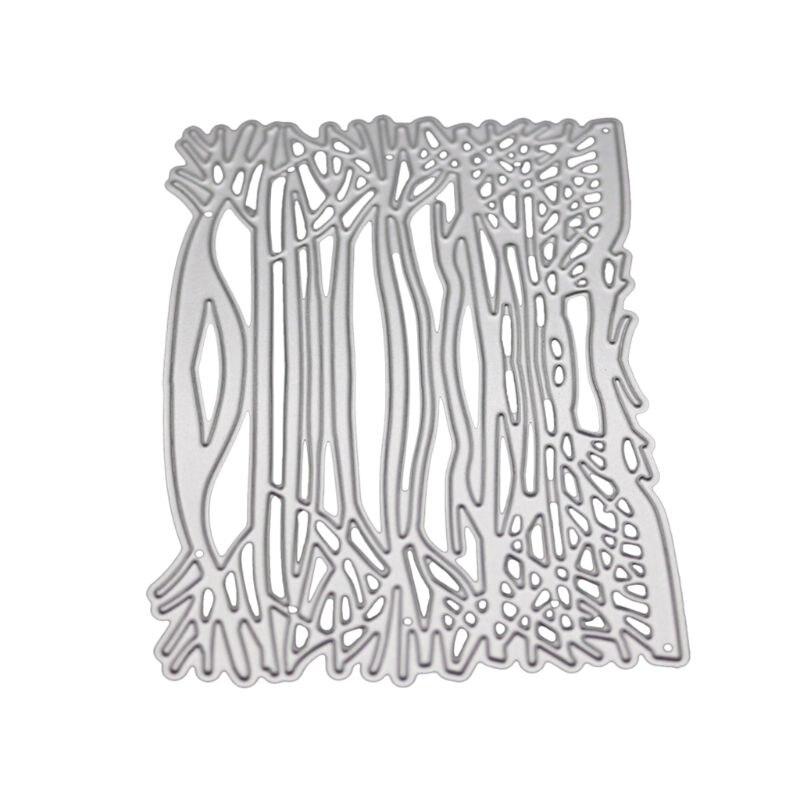 1PC Branch Metal DIY Cutting Dies Stencil Scrapbook Album Paper Card Embossing X
