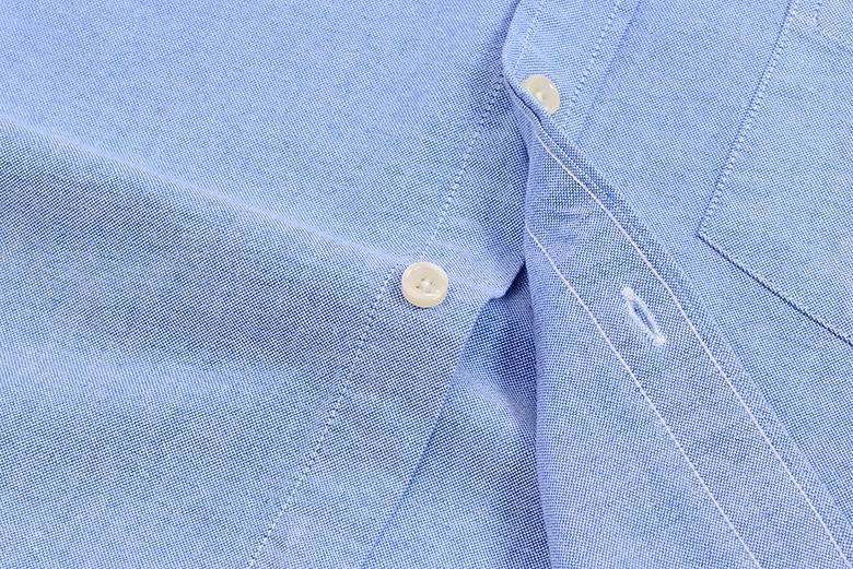H691a1e03cba84f059c6543468b957394J Men's Summer Pure Cotton Oxford Shirts Casual Slim Fit Design Short Sleeve Fashion Male Blouse Shirt