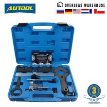 AUTOO Engine Special Camshaft Timing Tools Checking Adjusting Timing Chain Tensione for BMW N63 S63 N74 F01 750I XDRIVE E70 X5M