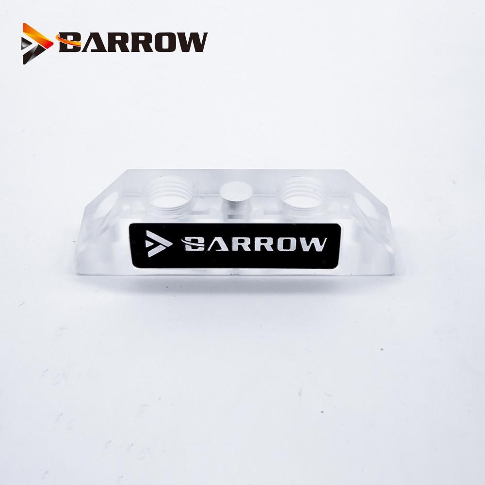 Ponte de Bloco De Água do carrinho de mão/change-over direção terminal conector para bloco de água GPU/2 Buracos/ apenas compatível com Carrinho de mão