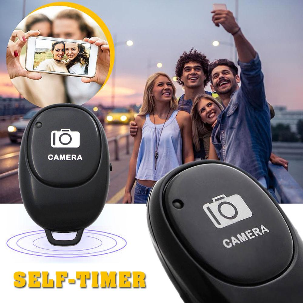 Mini Bluetooth Remote Control Button Wireless Controller Self-Timer Camera Stick Shutter Release Phone Selfie for ios / Android 2