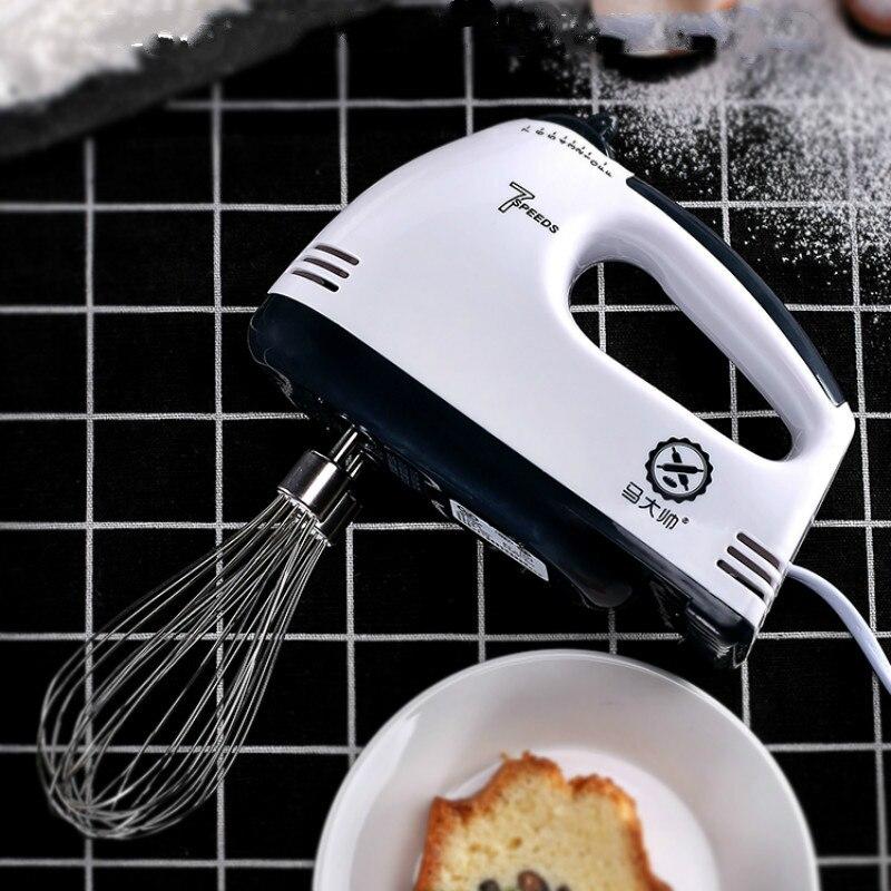 Усовершенствованный стиль венчик ручной Электрический бытовой небольшой сливочный яичный белый венчик для выпечки торта автоматический миксер