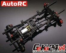 Cadre descalade GK24 4e génération et châssis de chenille RC GK24 V4 1/24
