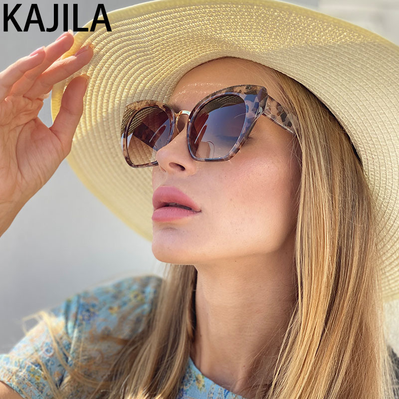 Cat Eye Sunglasses Women Leopard 2020 Trending Luxury Brand Designer Eyewear Shades Sun Glasses For Women lentes de sol mujer