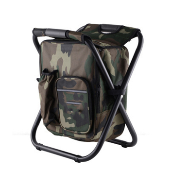 Portable Fishing Chairs Outdoor Travel Folding Backpack Chair Hiking Beach Backpacks Camping Stool Picnic Bag Lightweight Stool naturehike portable fishing chair foldable 2 colors steel folding hiking picnic barbecue beach vocation camping chairs