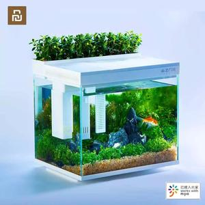 Youpin Geometry AI intelligent modularity Fish Tank Aquaponics Ecosystem Garden Ecological Fish Tank Aquarium Transparent