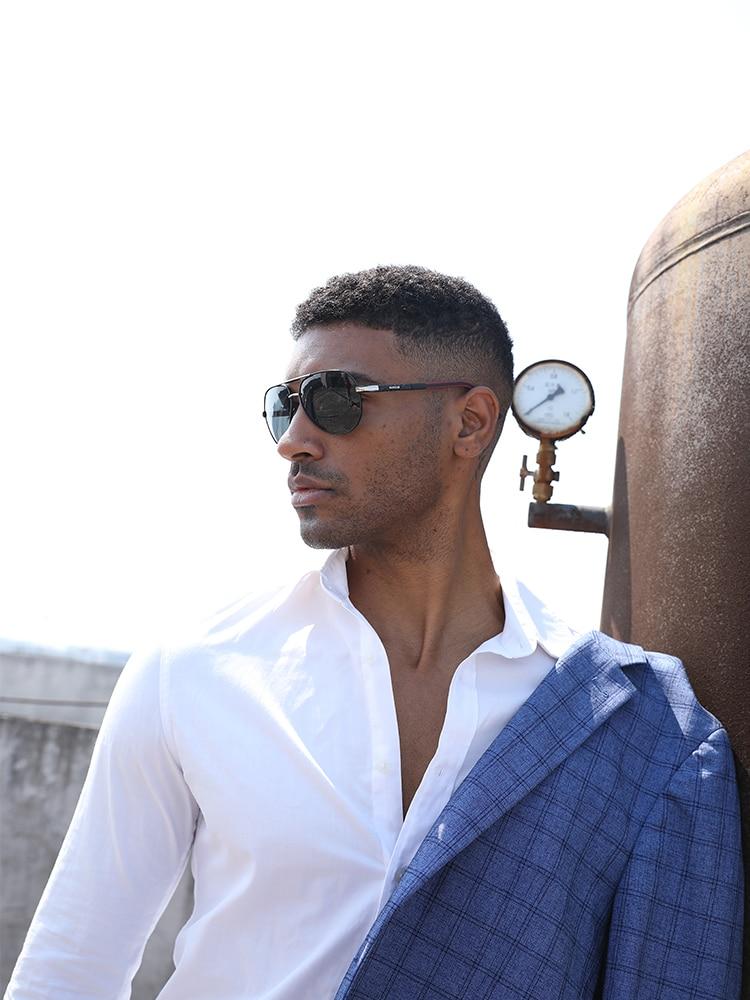 Men's Sunglasses Eyewear-Accessories Oculos Magnesium Male BARCUR Men Polarized Aluminum