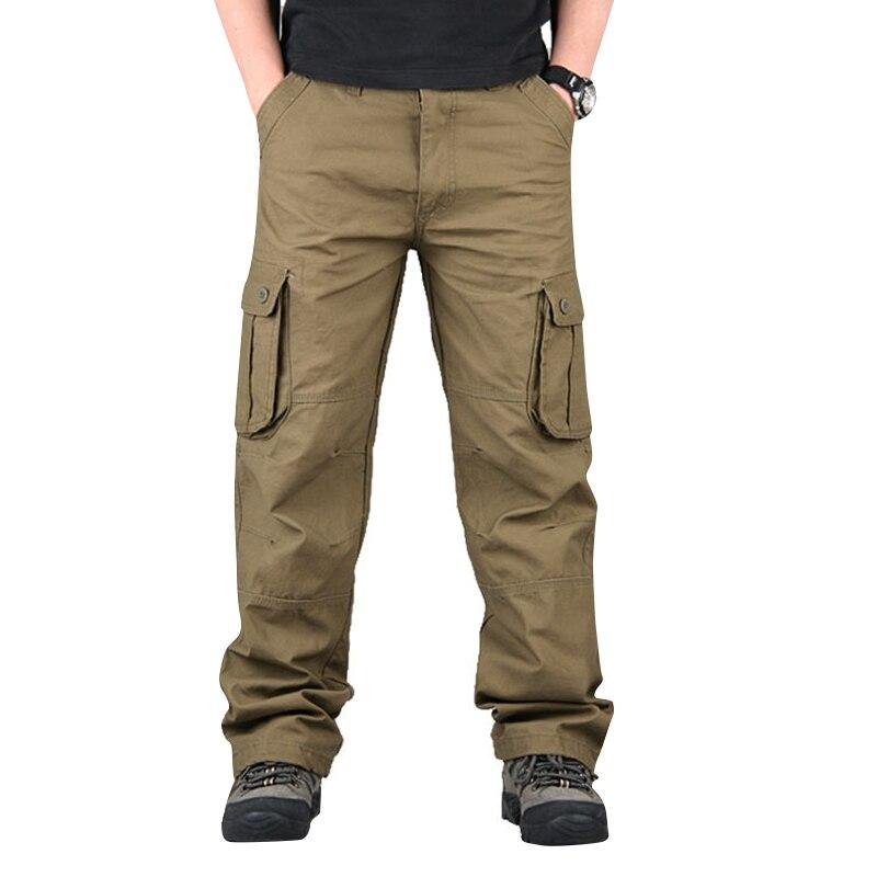 Men Outdoor Pants Three-dimensional Pockets Multi-functional Casual Pants Autumn Trousers Outdoor Multi-pocket Men Pants JL