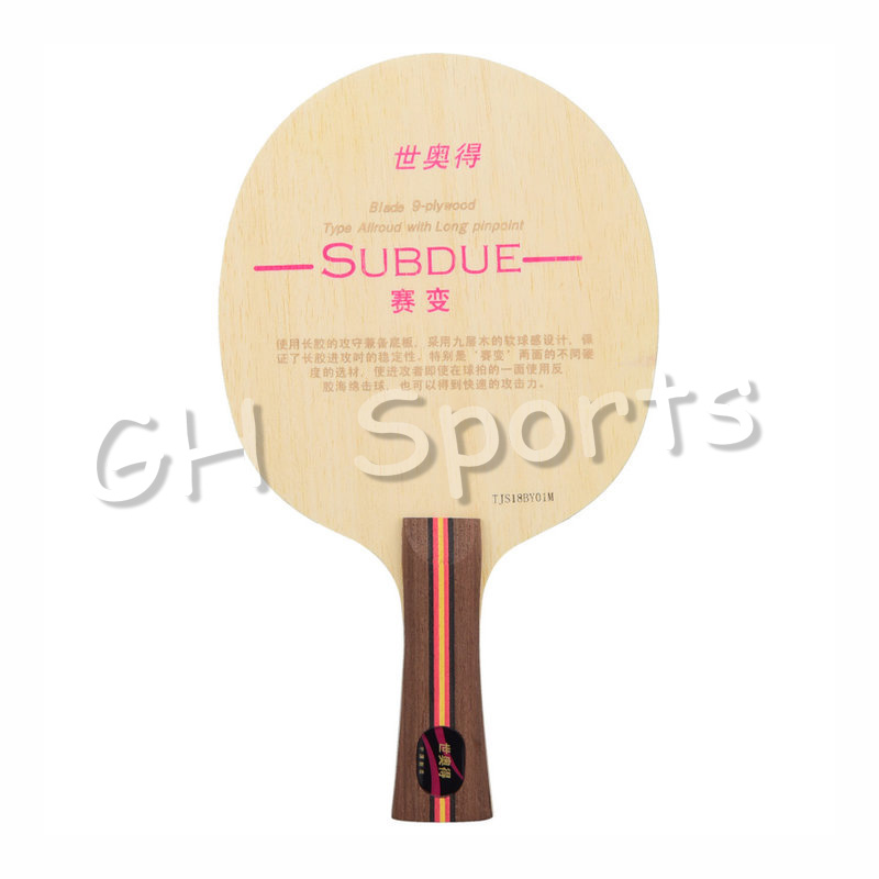 SWORD SUBDUE (Allround For Pips-long) Table Tennis Blade Racket Ping Pong Bat Paddle