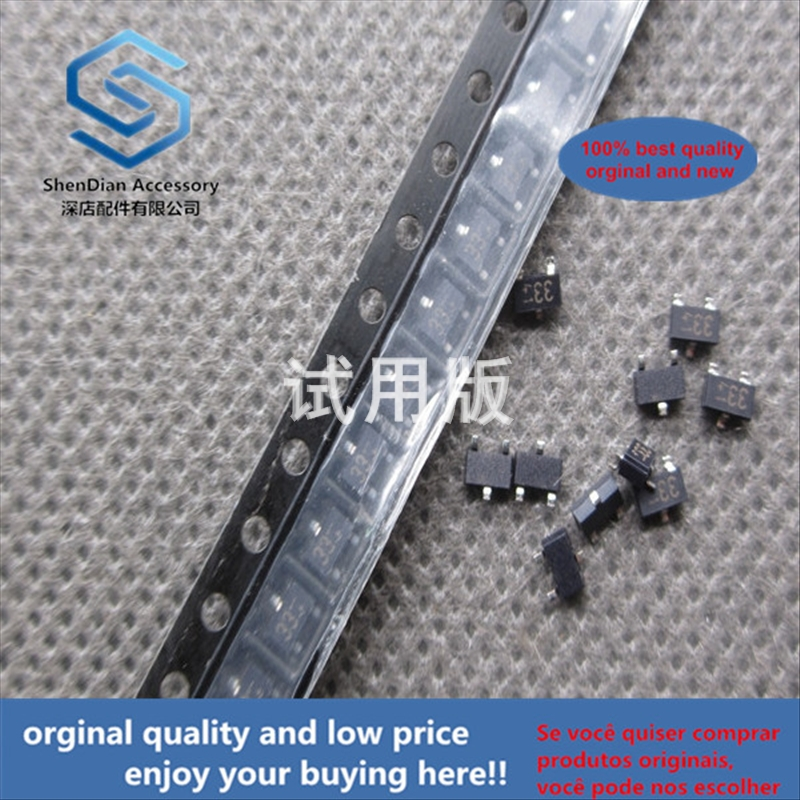 50pcs 100% Orginal New Best Quality SMD With Damping Transistor DTA143XKA Silk Screen 33 Package SOT-23 100 Only 8 Yuan