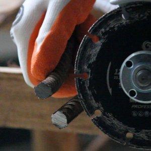 Image 5 - Raizi 4, 4.5, 5 inç metal kesme diski açılı taşlama, aşındırıcı elmas testere bıçağı için çelik, sac, paslanmaz çelik